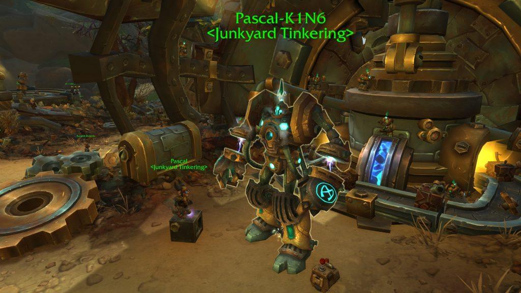 Guía del portal WoW Mechagon Pascal-K1N6