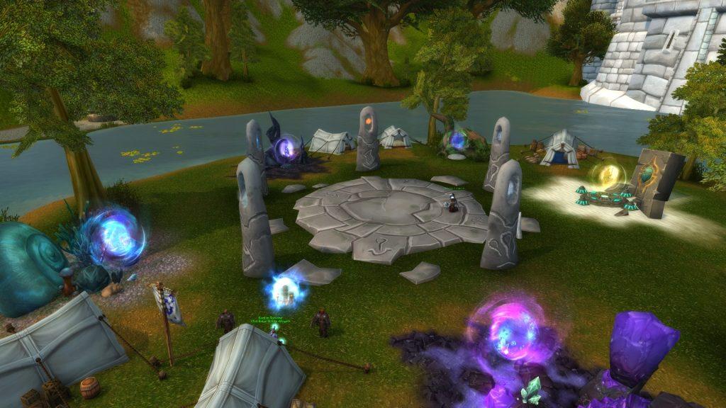 Guía del portal de WoW Portal Circle Stormwind
