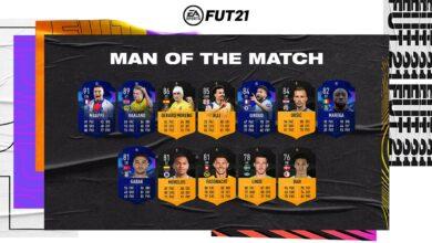 FIFA 21: MOTM - Nuevas cartas de Hombre del partido disponibles - 27 de febrero