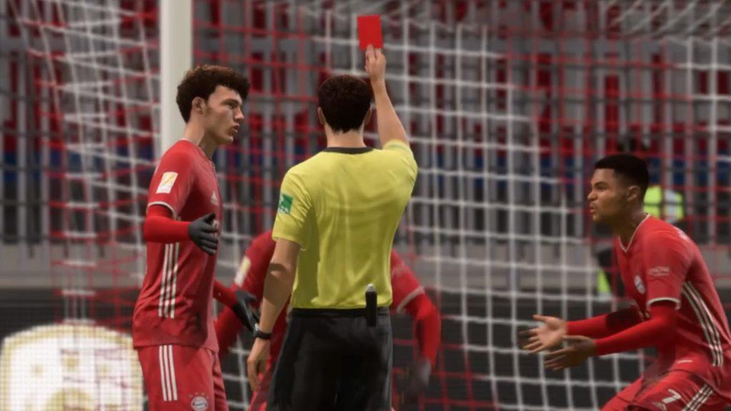 Falta de FIFA 21