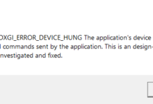 Apex Legends - Error 0x887A0006 DXGI ERROR DEVICE HUNG - Cómo solucionarlo