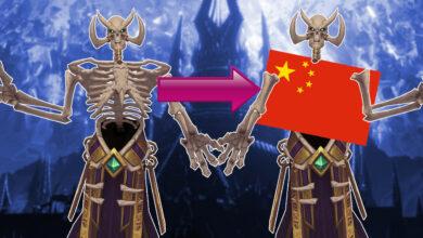Así de absurdos se ven algunos personajes de WoW en China