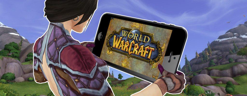 Título de Warcraft del juego móvil de WoW Female Mage