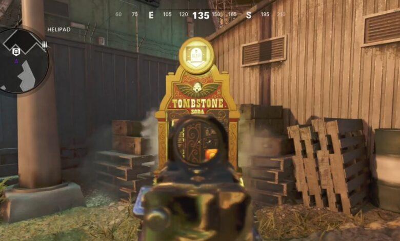 Call of Duty Black Ops Cold War: todas las ubicaciones de máquinas expendedoras o ventajas en Firebase Z en Zombies