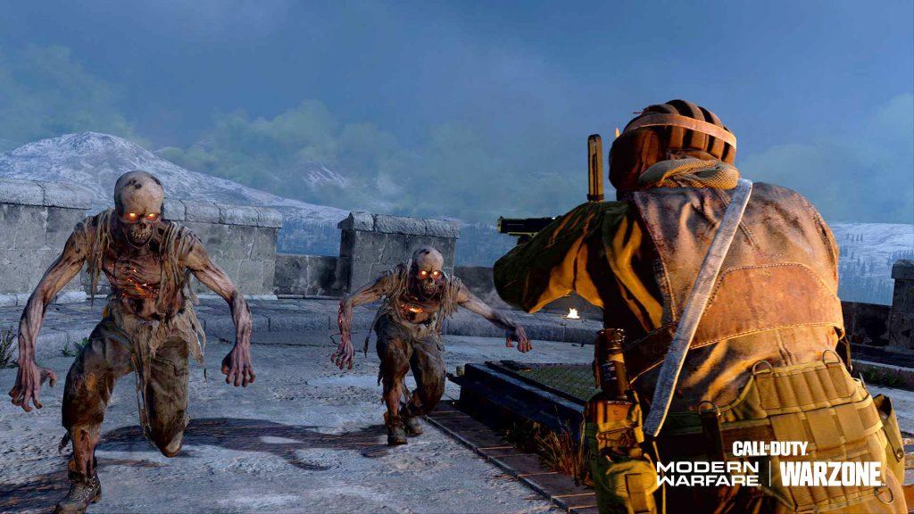Título de CoD Warzone Zombies