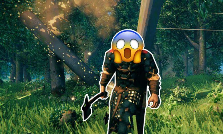 Cuidado, los oponentes más letales de Valheim son los árboles, no es broma