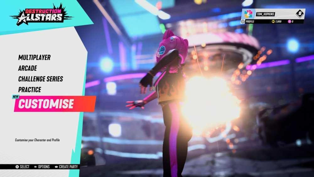Destruction AllStars cambia la apariencia de los personajes