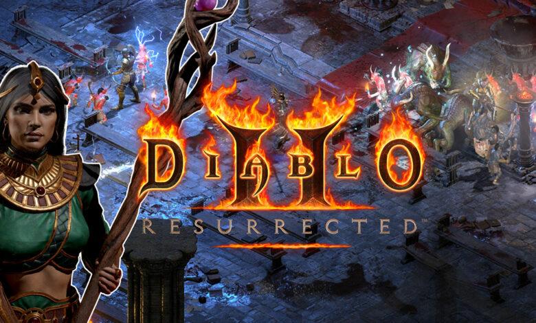Diablo 2: Resurrected llega como remasterización: todo lo que necesitas saber sobre el lanzamiento