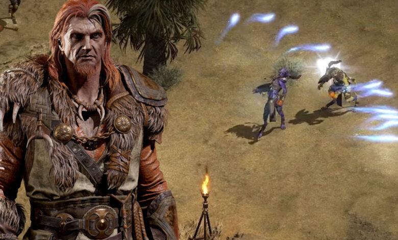 Diablo 2 Resurrected muestra 6 minutos de juego, ¿qué pasa con el modo cooperativo?