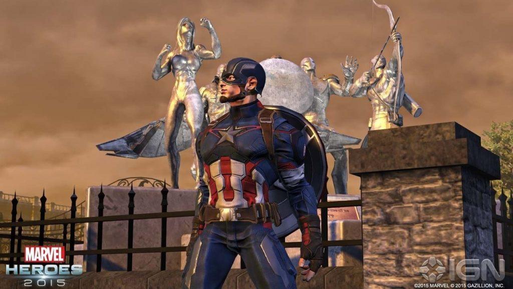 Marvel Heroes Capitán América 2
