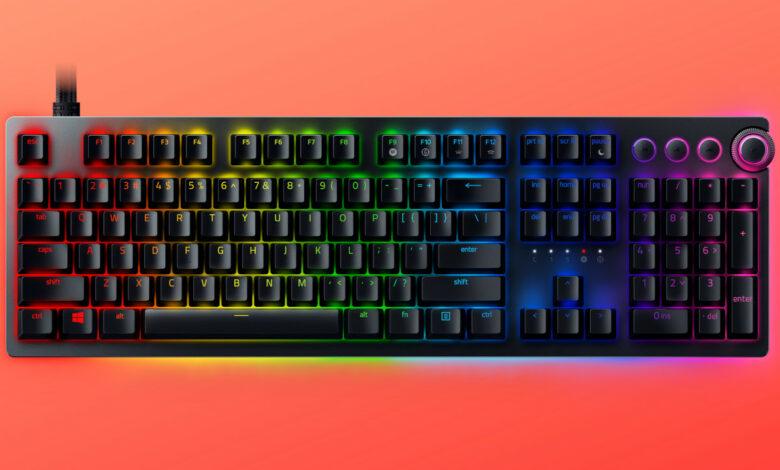El nuevo teclado de Razer debería sentirse como un controlador, así es como debería funcionar