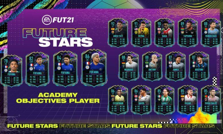 FIFA 21: Academy Wesley Fofana Future Stars Goles - Requisitos