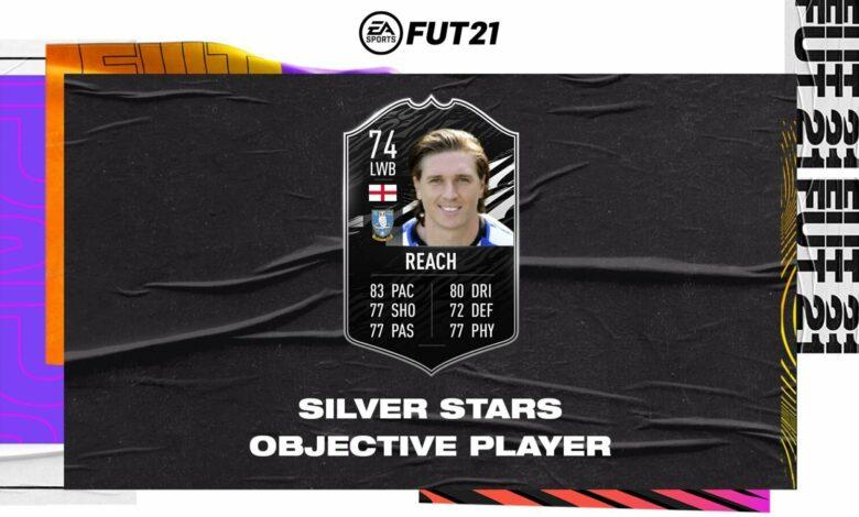 FIFA 21: Adam Reach Objetivos Silver Stars - Requisitos