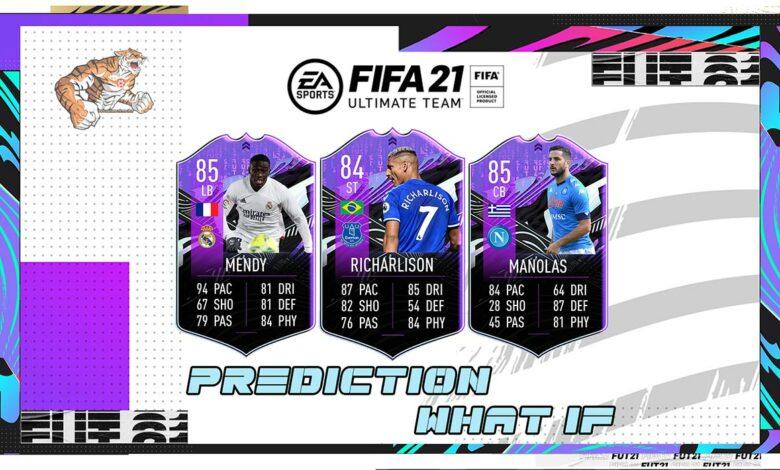 FIFA 21: Cartas especiales de predicción del evento What If