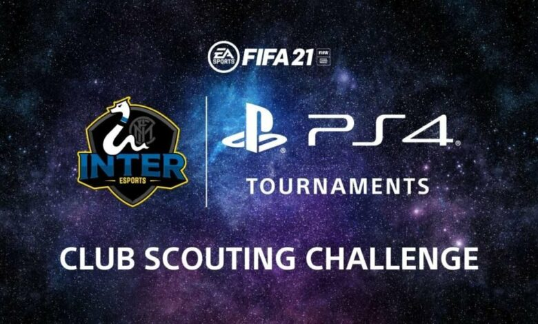 FIFA 21: Club Scouting Challenge PS4 en colaboración con Inter: una PS5 está en juego