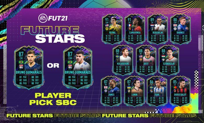 FIFA 21: Futuras estrellas de SBC Bruno Guimaraes - Requisitos y soluciones