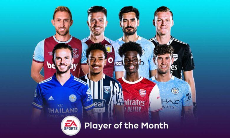 FIFA 21: Nominaciones de enero de POTM de la Premier League
