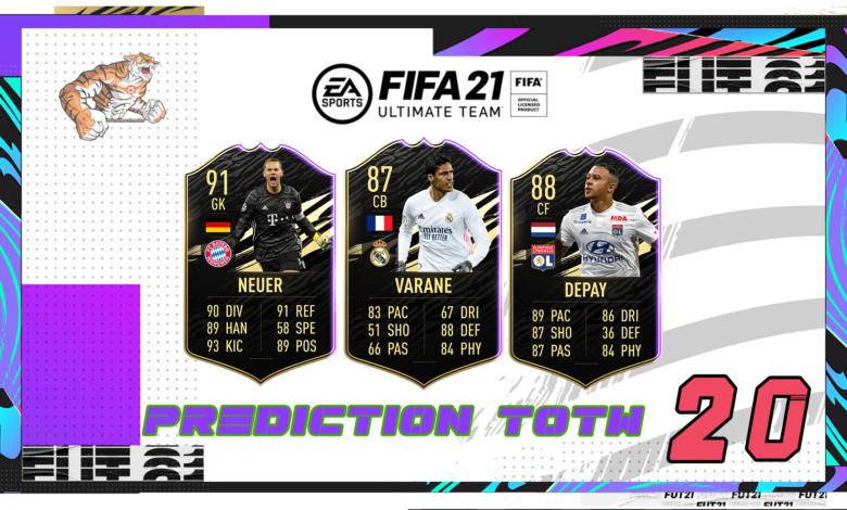FIFA 21: Predicción TOTW 20 del modo Ultimate Team