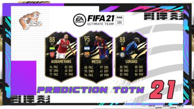 FIFA 21: Predicción TOTW 21 del modo Ultimate Team
