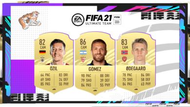 FIFA 21: actualización de transferencias de invierno N ° 3