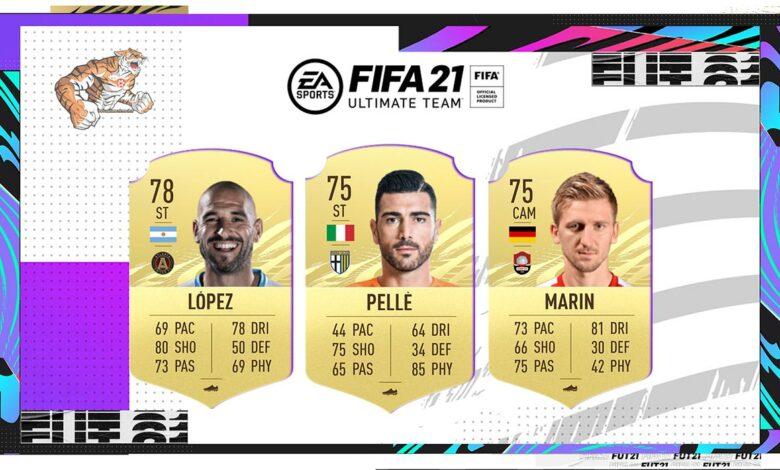 FIFA 21: actualización de transferencias de invierno N ° 4