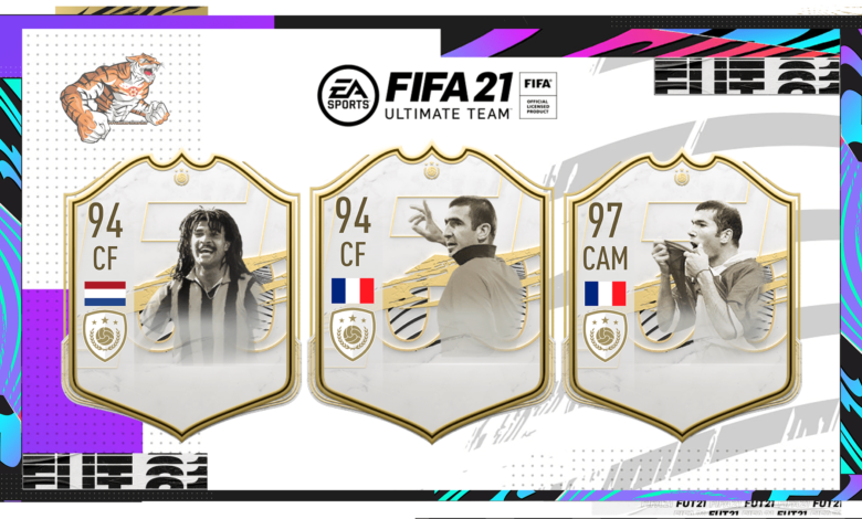 FIFA 21: reveló las imágenes de los Icon Prime Moments