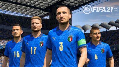 FIFA 21: se anuncia la licencia de la selección italiana - kits y logotipos oficiales disponibles
