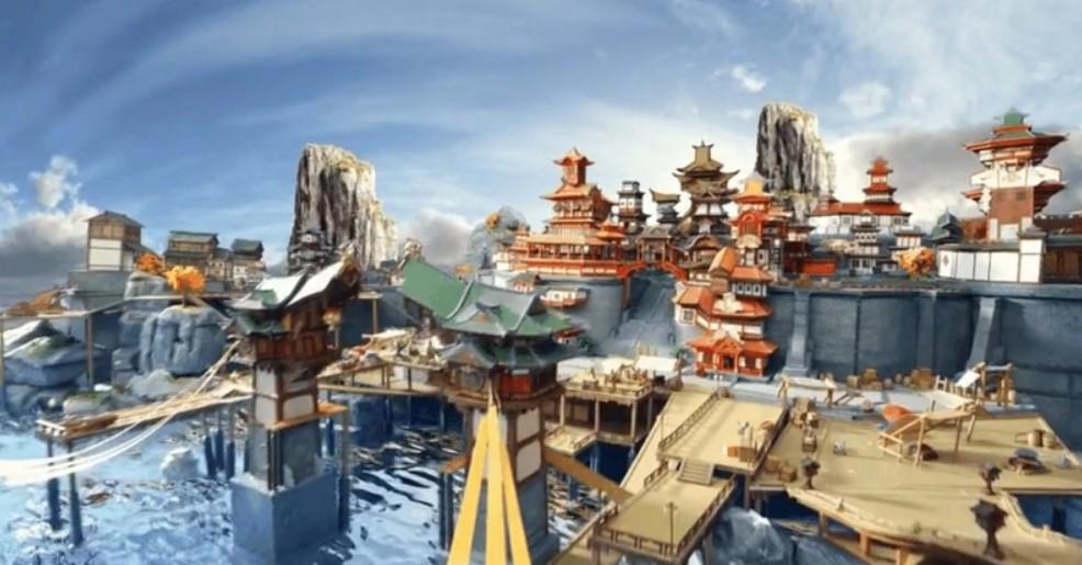 Modelo Genshin Impact Liyue Harbour