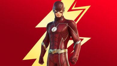 Fortnite: obtienes la máscara de Flash gratis antes de que aparezca en la tienda
