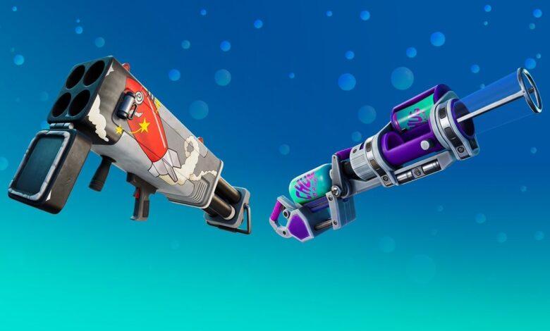 Fortnite trae 3 nuevas armas exóticas en la actualización 15.30: puede encontrarlas aquí