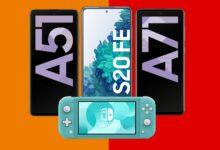 Galaxy S20 FE & Co. con tarifa y Nintendo Switch Lite baratos en Saturn