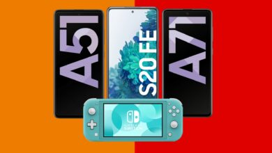 Galaxy S20 FE & Co. con tarifa y Nintendo Switch Lite baratos en Saturn