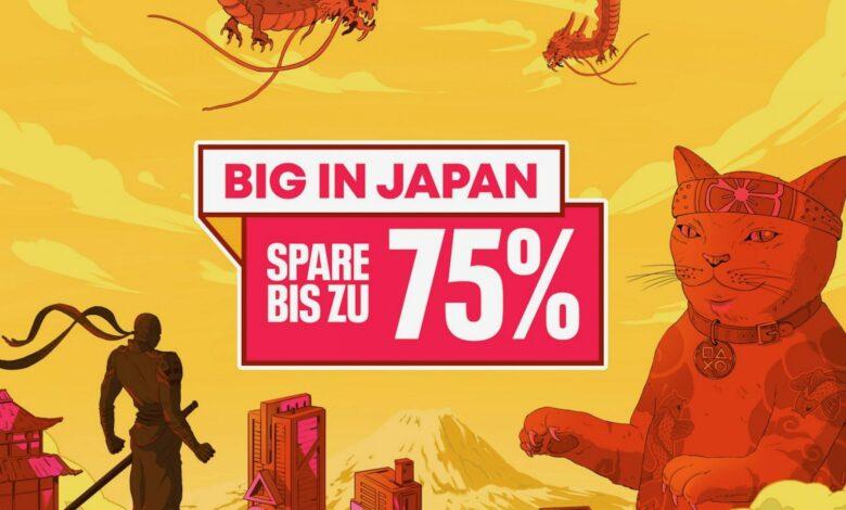 Grande en Japón en PS Store: muchos éxitos asiáticos para PS4 y PS5 se redujeron considerablemente