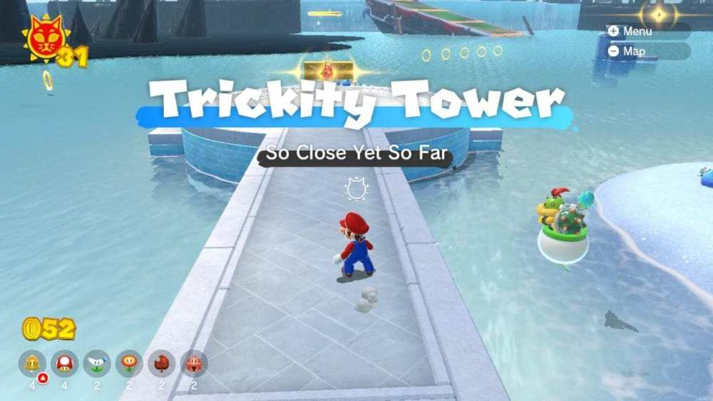 Bowsers Fury Trickity Tower brilla