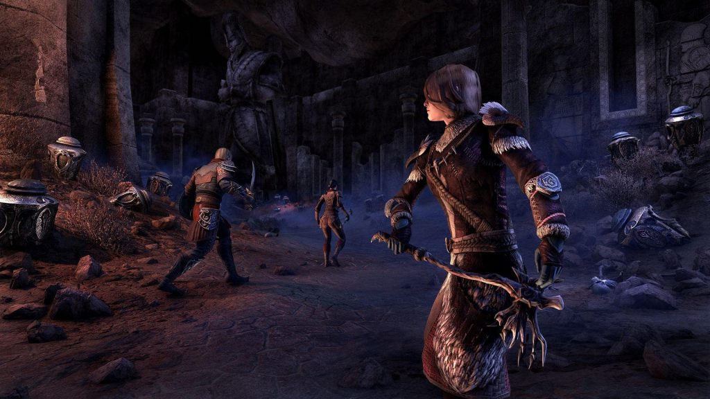 ESO Harrowstorm Dungeon Unholy Tomb
