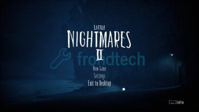 Little Nightmares 2 - Corrección de error fatal