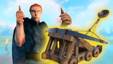 Los locos vikingos de Valheim construyen catapultas humanas y se disparan