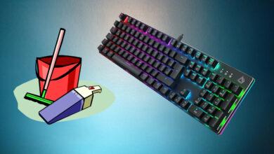 Los mejores consejos sobre cómo limpiar su teclado para juegos
