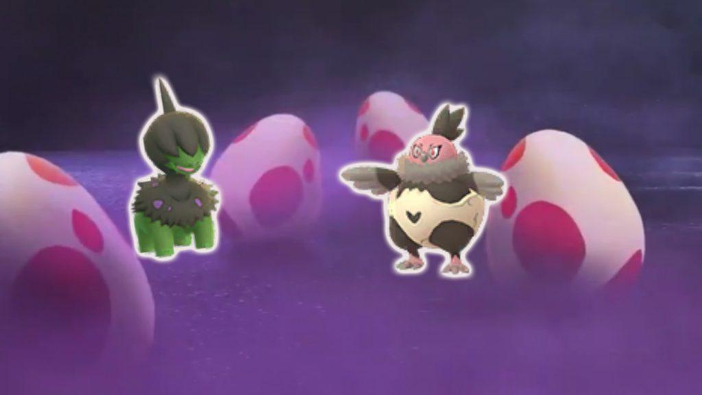 Huevos Curiosos Pokemon GO