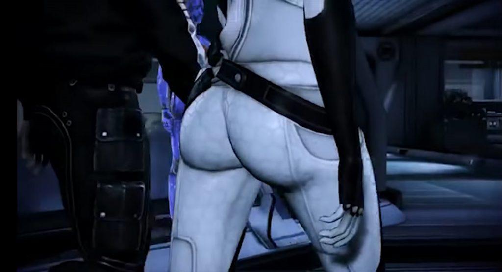 Mass Effect Miranda Butt 2