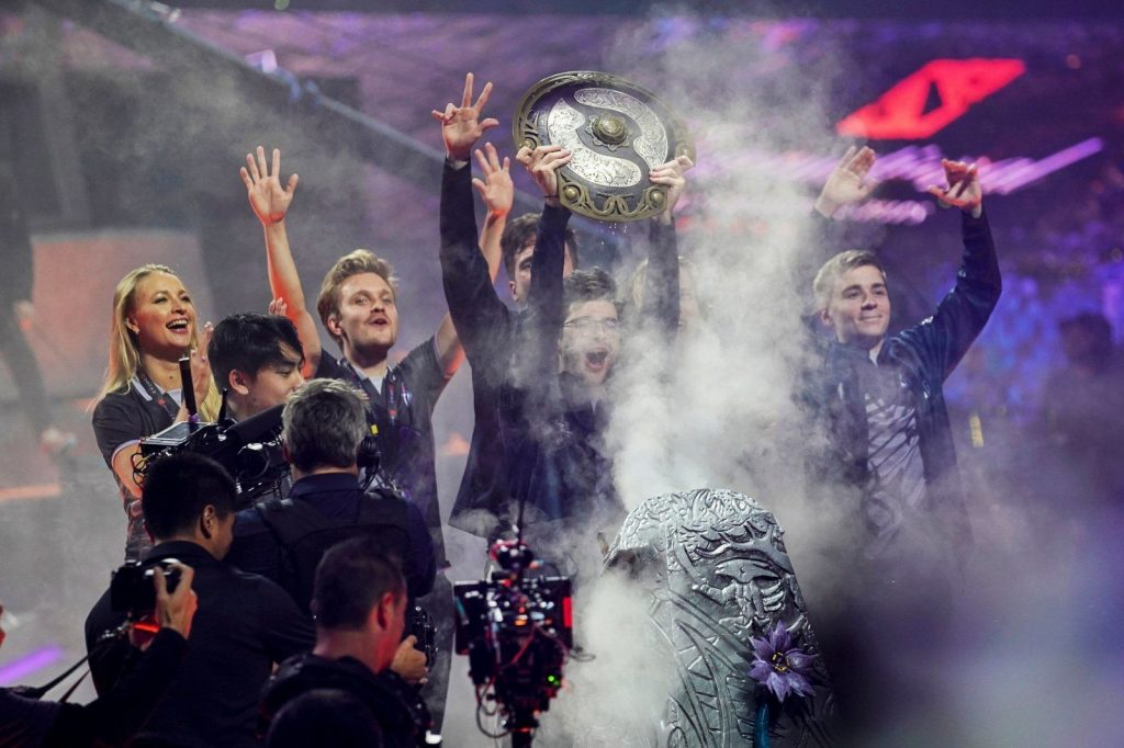 DOTA 2 The International ganador