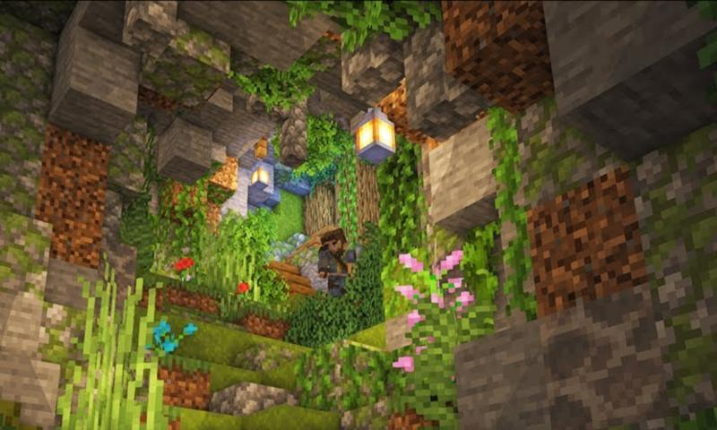 Actualización de Minecraft Caves and Cliffs