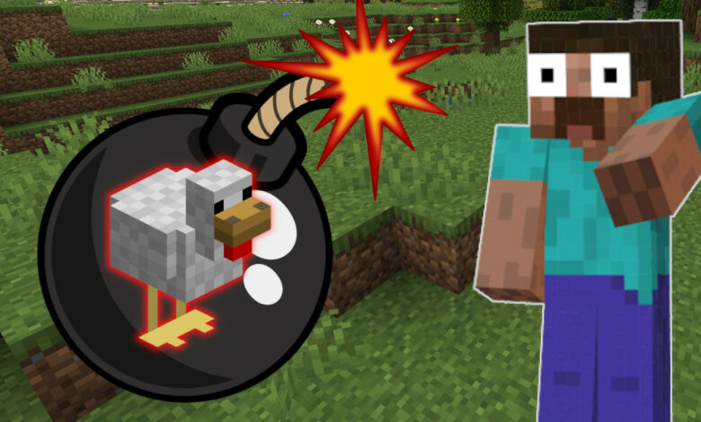 Minecraft: Todo se convierte en una bomba mortal con este mod
