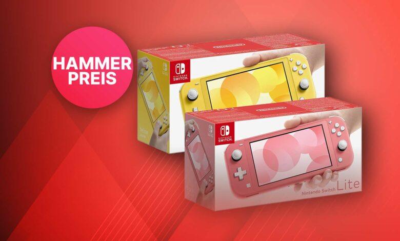 Nintendo Switch Lite en Amazon tan barato como nunca antes