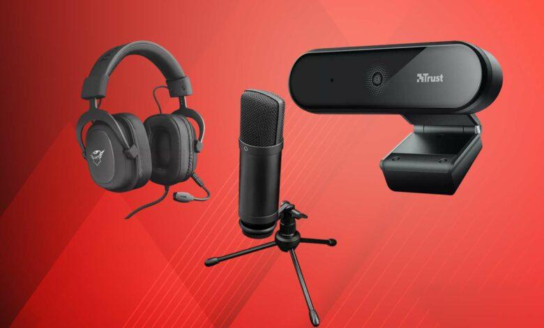 Oferta de MediaMarkt: cámara web y micrófono de confianza para streaming y Youtube