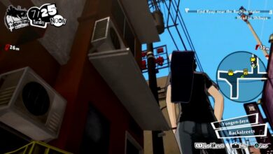 Persona 5 Strikers - Error de la cámara - Cómo solucionarlo