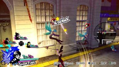 Persona 5 Strikers: corrección de pantalla negra