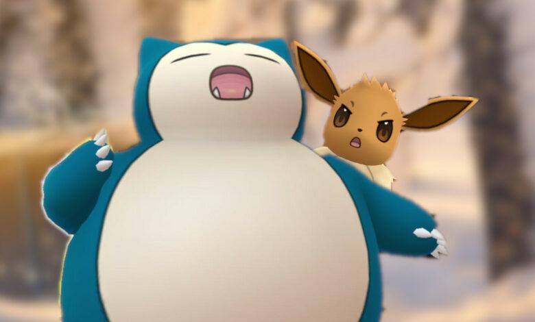 Pokémon GO: cómo el trasero de Snorlax arruinó la captura de Eevee de un entrenador