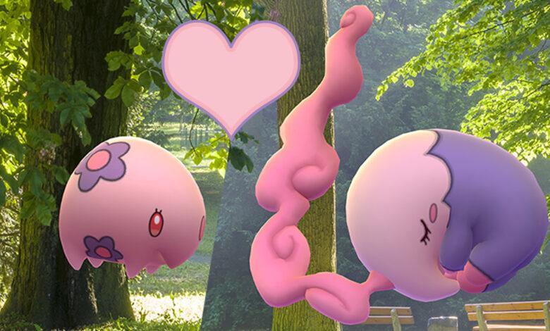 Pokémon GO celebra el Día de San Valentín con 2 nuevos regalos de Pokémon y Fernraid