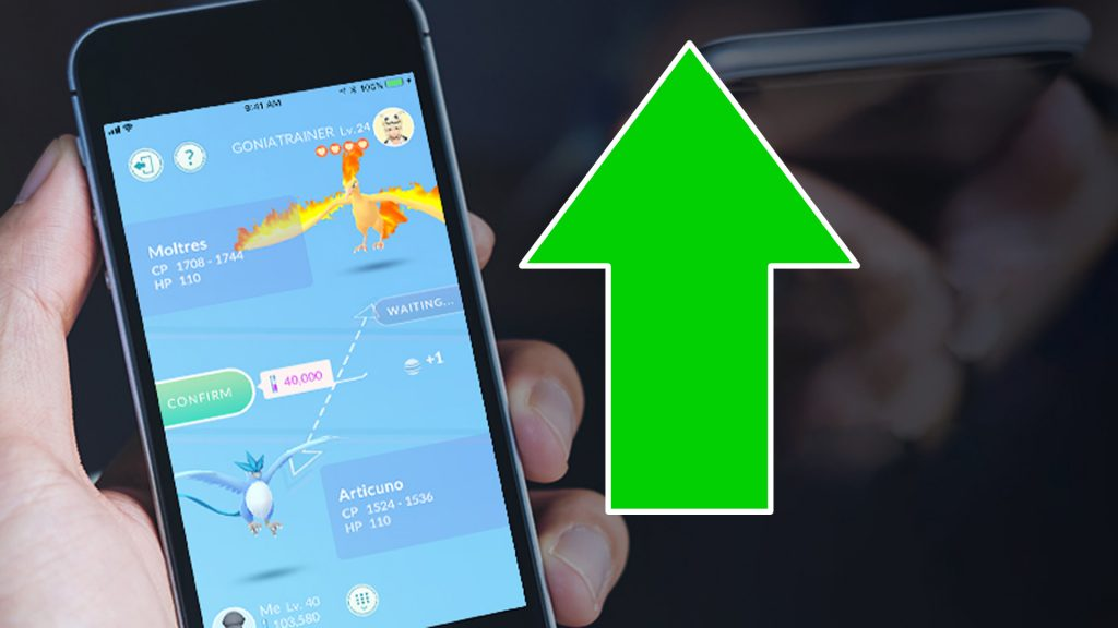 Pokémon GO intercambia títulos altos